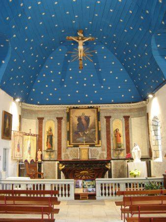 Choeur de la chapelle de Penmern, Baden