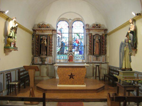 Chapelle Ste Brigitte, Naizin