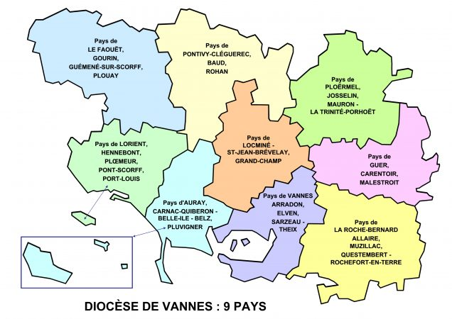 Diocese 9 pays HD