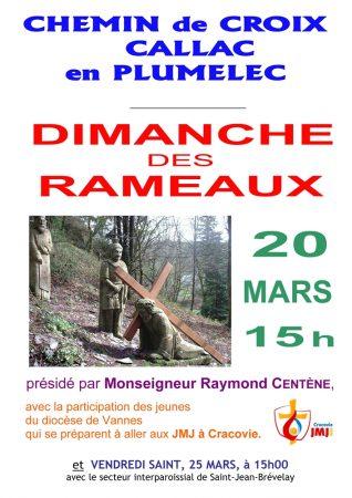 12 - JEUNES - Affiche Chemin de Croix Callac