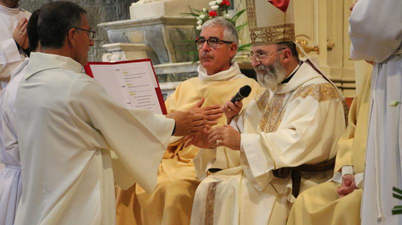 Engagement au diaconat de Jean-Louis Perraud