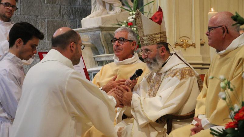 Engagement au diaconat de Michel Boscher