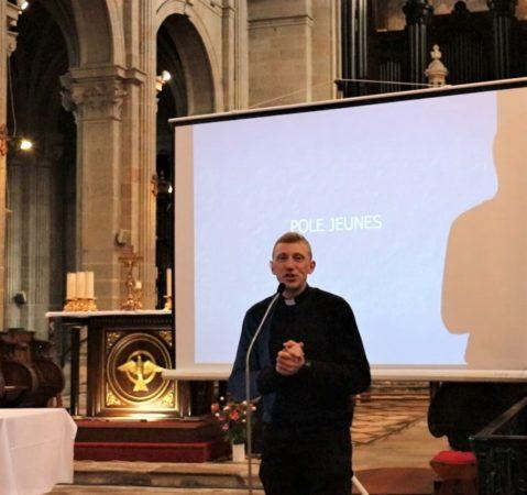 Père Patrick Monnier - Pôle Jeunes - Rentrée diocésaine 2020